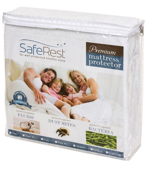 图片 SafeRest 顶级纯棉 防水抗过敏床单